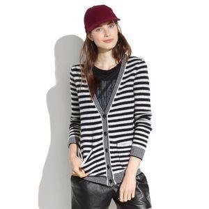 Madewell • Coffeeshop Cardigan In Stripe